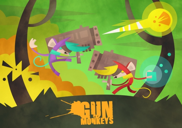 GunMonkeys Title. A4man